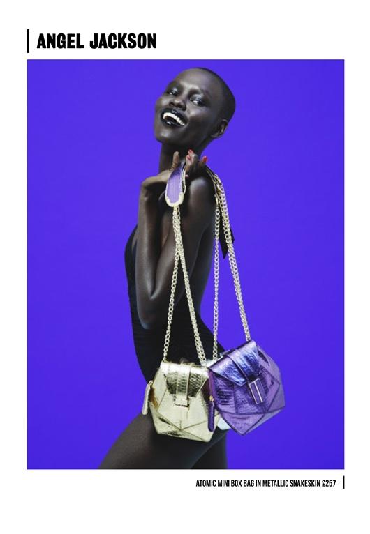 Grace Bol for @AngelJacksonUK  #SS13 look book shoot @Bea_Sweet @SarahPiantadosi @Melissa_______T @StormModels