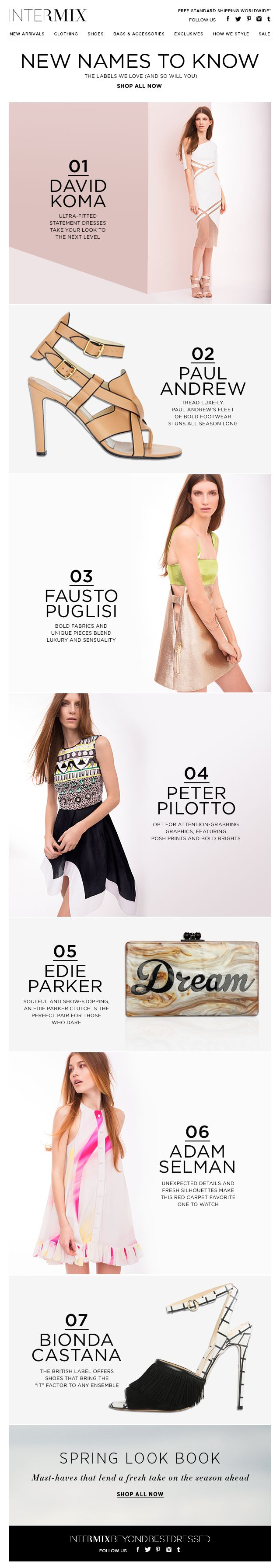 InterMix New Names to Know