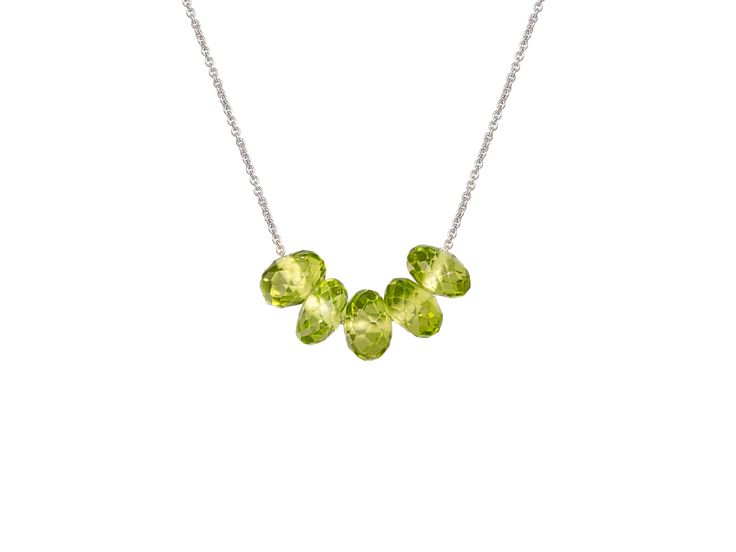 Olly and Rose Peridot Necklace