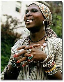 """Sept 6,1947 – Dec16,1988 Sylvester, was an American disco and soul singer-songwriter. Known for his flamboyant and androgynous appearance, often described as a drag queen,he repeatedly rejected such a description. Responsible for a string of hit singles, in the late70s, Sylvester became known in the US under the moniker of the """"Queen of Disco"""".Born in Watts, L A, he developed a love of singing through the choir of his Pentecostal church, leaving after being persecuted for his homosexuality.."""