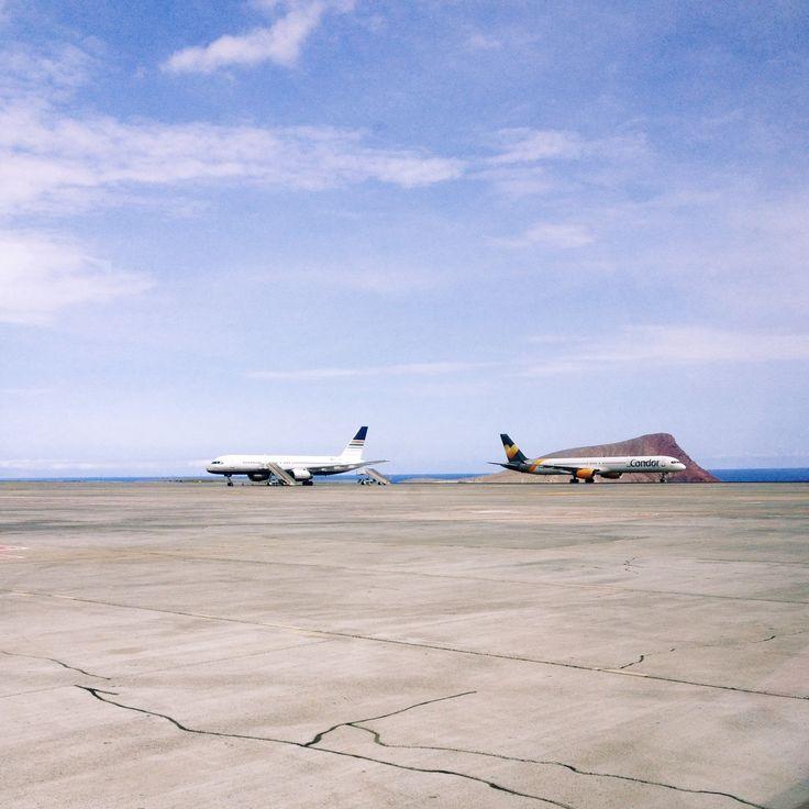 #tenerife #airport #plane | yummyuumi | VSCO Grid