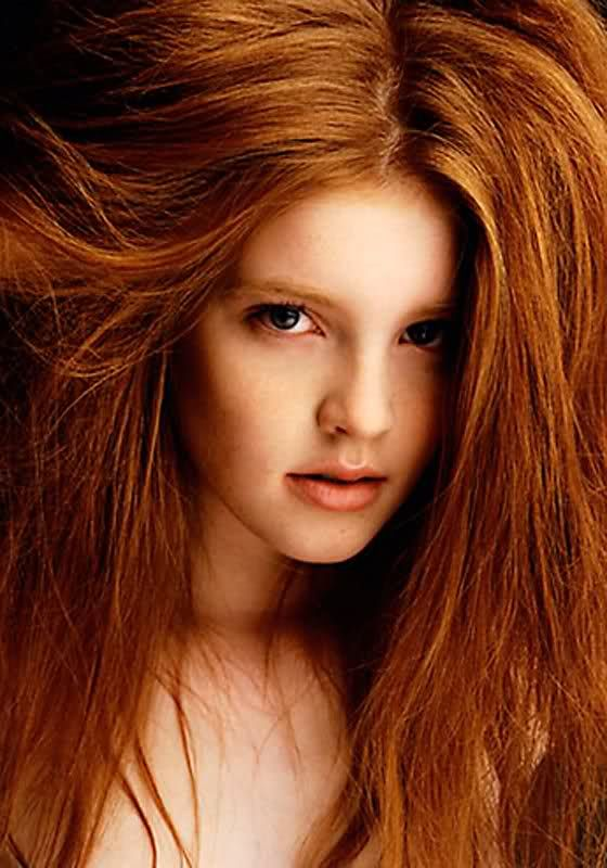 Big natural redhead