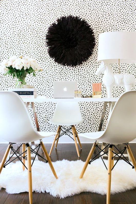 office wallpaper designs. office with tanzania wallpaper from thibaut design sfgirlbybay designs s