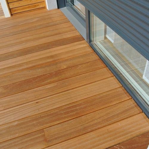 tecnhome terrasse bois exotique bankirai 40 m2 yutz. Black Bedroom Furniture Sets. Home Design Ideas