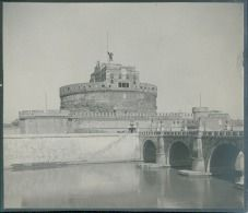 Italia, Roma. Castel Sant'Angelo, ca. 1905