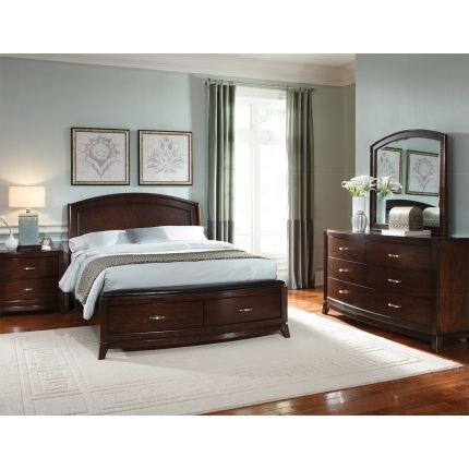 Rc Willey Liberty Furniture Avalon Collection 6 Piece Queen Bedroom Set Bedroom Sets