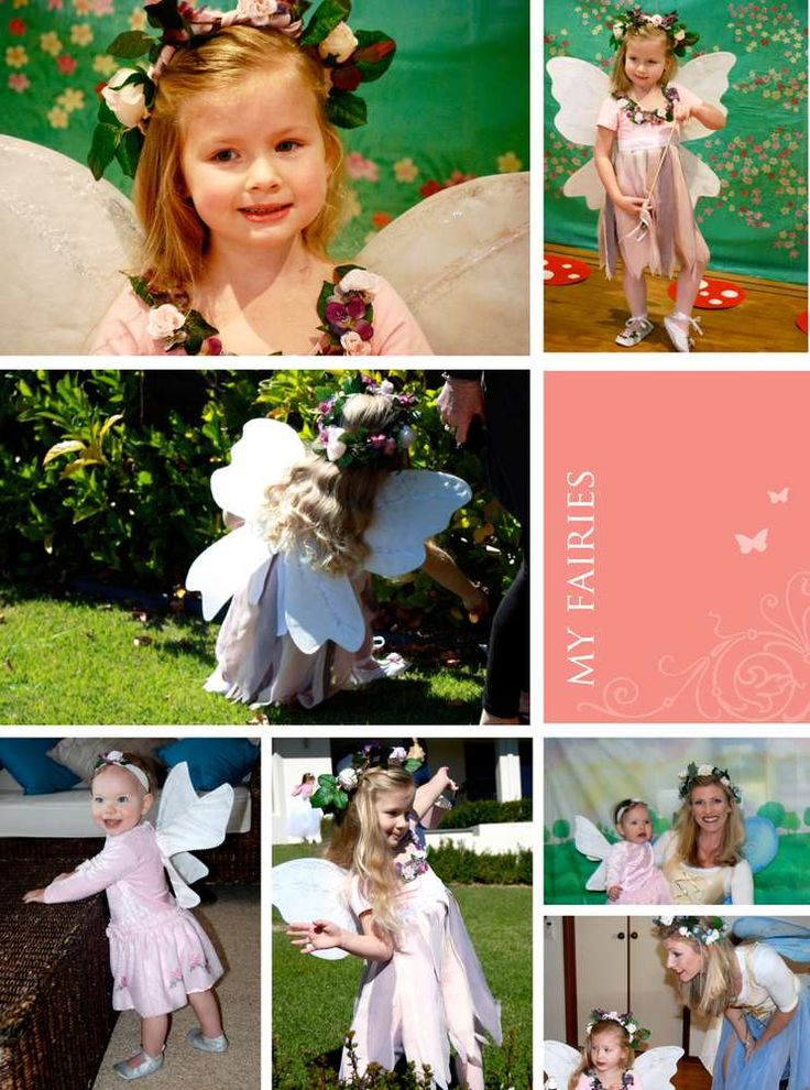Ella's enchanted wood fairy party | CatchMyParty.com