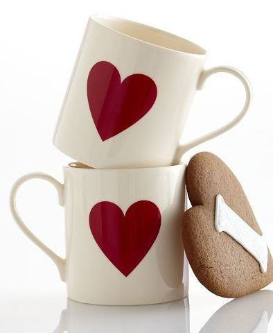 heart mugs #love  <3 *