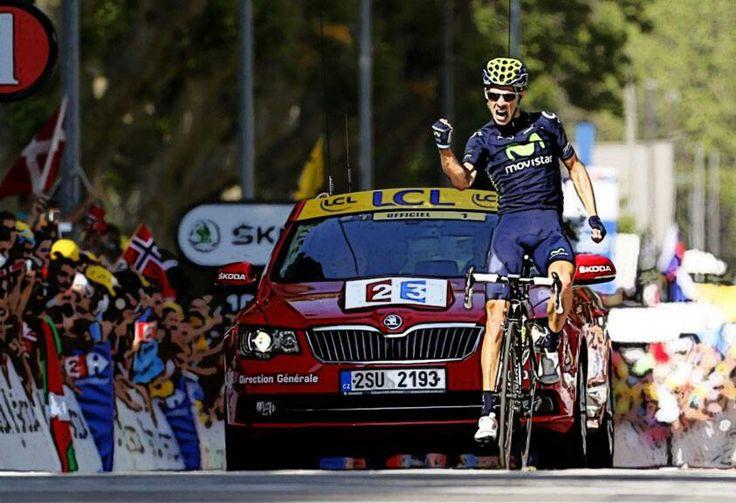 Rui Costa,  segundo triunfo de etapa.  Tour 2013