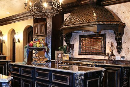 Grandeur Design Kitchen Home Decor Pinterest Kitchens Tuscan Style And Tuscan Design