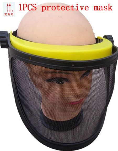 16.09$  Watch here - http://ali59c.shopchina.info/go.php?t=32654195799 - Rust metal net mask mowing the lawn garden maintenance safety mask black against the insects flying full face safety masks  #aliexpress