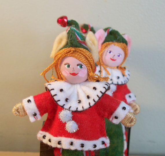 Art Dolls and Miniatures Santa's Helper Christmas by WhisperingOak