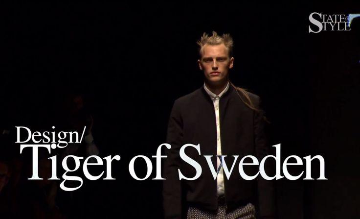 Stockholm fashion. Show at Mercedes Benz Fashion Week.  http://www.youtube.com/watch?v=c99el8OSxYo #tiger #male #female