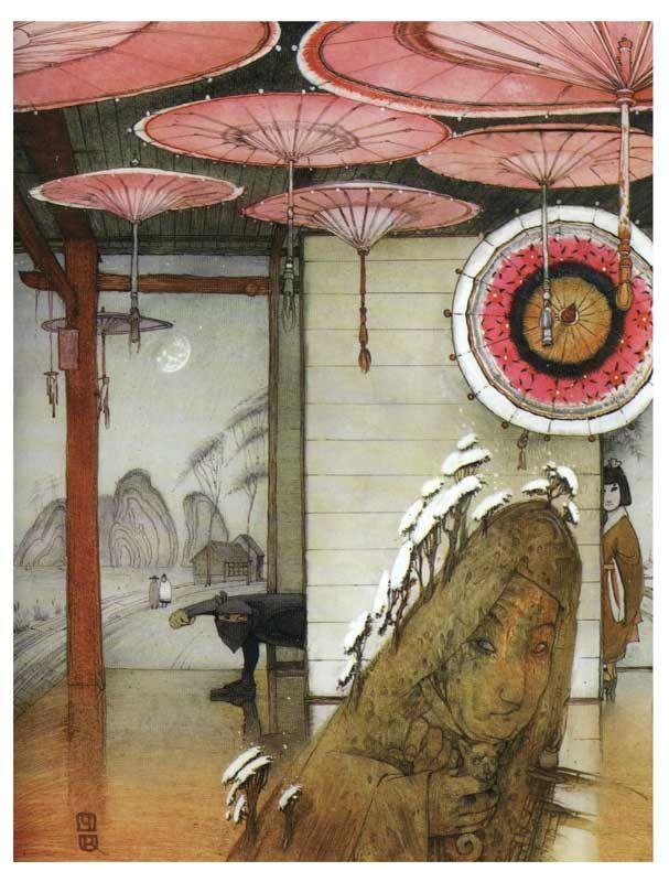 Кирилл Челушкин «Японские сказки» 2002