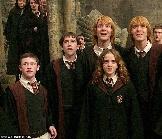 Ich Kann Die Langen Haare An Den Zwillingen Nicht Haben Harry Potter Actores De Harry Potter Actores