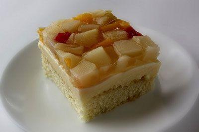 Filipino Sponge Cake (Crema de Fruta) Recipe Recipe Recipe - Saveur.com