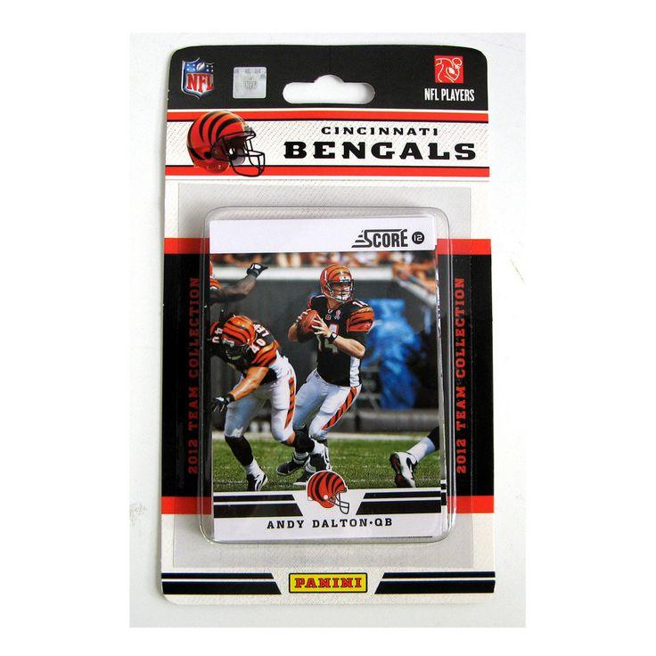 2012 Score NFL Team Set - Cincinnati Bengals