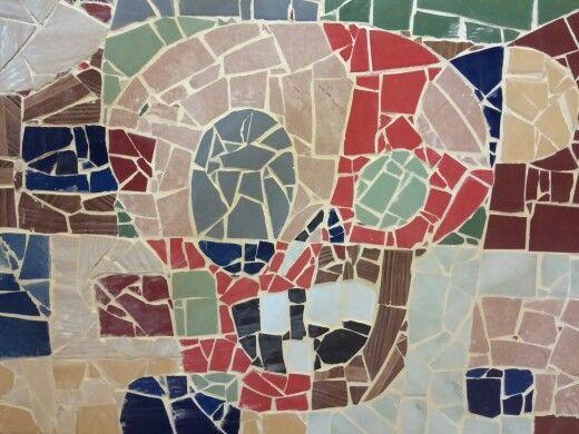 Mosaico caveira/skull