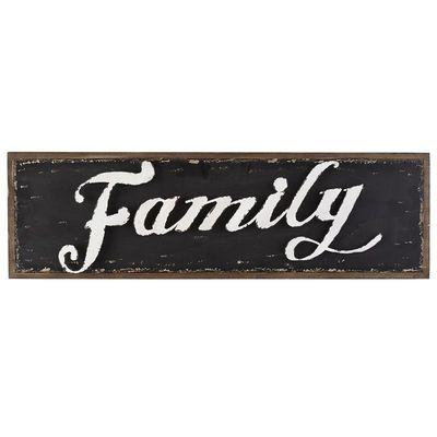 Family Wall Decor - Black