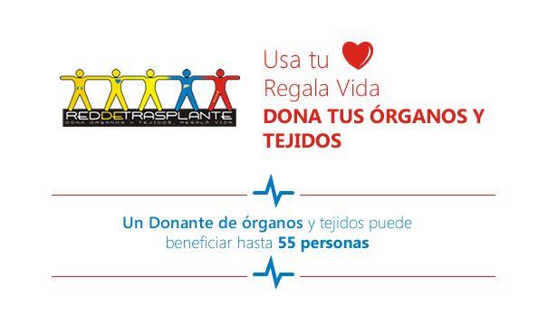 ¿Sabías que un donante de órganos y tejidos puede beneficiar hasta 55 personas? Regala vida, dona tus órganos y tejidos   #Salud