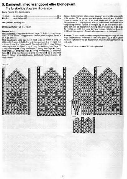 SELBUSTRIKK MITTINS – Barbara H. – Picasa Nettalbum