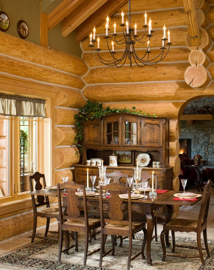 17 Best Images About Log Home Interiors On Pinterest Serving Bowls Stains And Candle Sticks