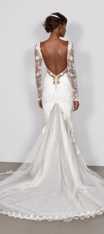 Decote nas costas #vestidodenoiva #renda #noivasemny.com