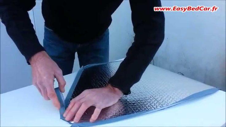 Le kit de réalisation des rideaux isolants pour véhicules ! - YouTube