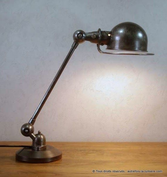 17 best images about lampes on pinterest industrial floor lamps and faucet - Lampe jielde ancienne ...