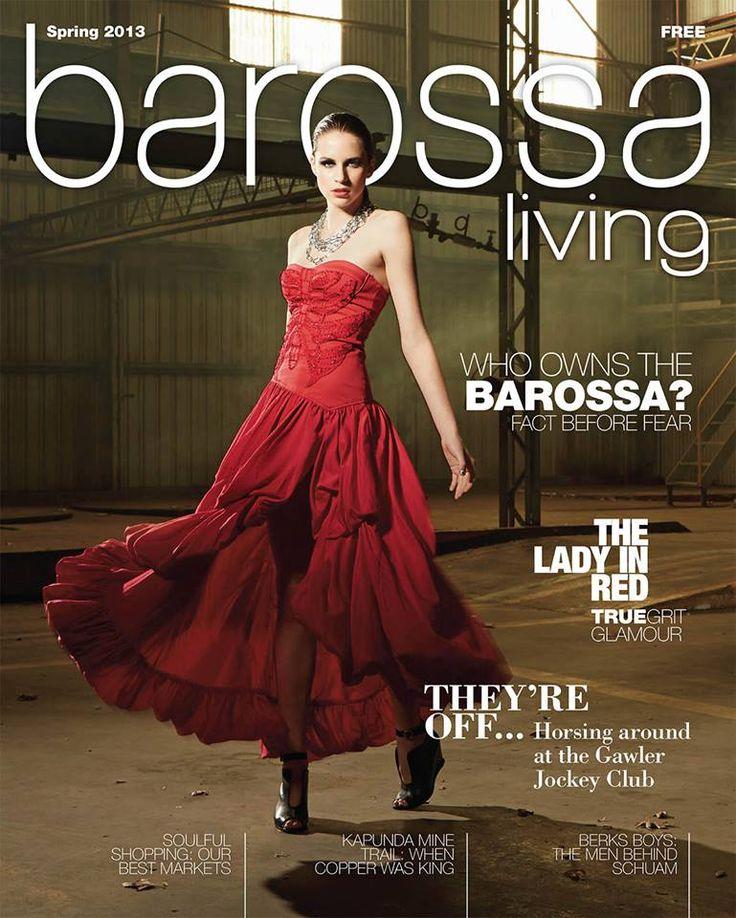 Jason Hamer - Creative Director for Barossa Living Magazine Spring 2013