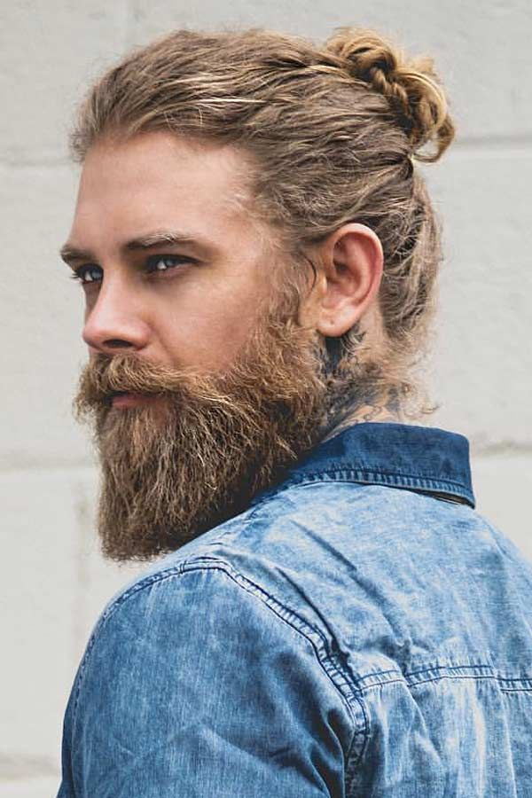 Mens Long Hairstyles Guide The Complete Version Menshaircuts Com Man Bun Hairstyles Men S Long Hairstyles Long Hair Styles Men