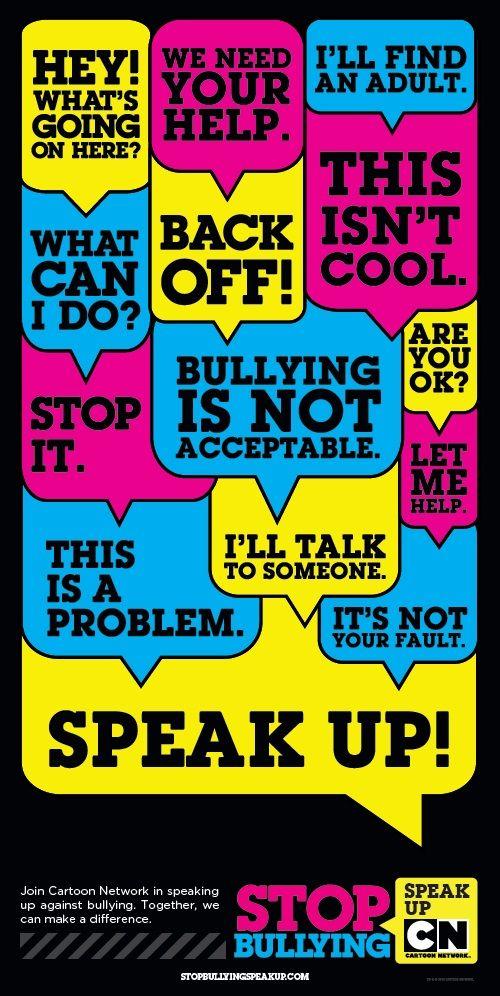 Best 25+ Stop Bullying Speak Up ideas on Pinterest