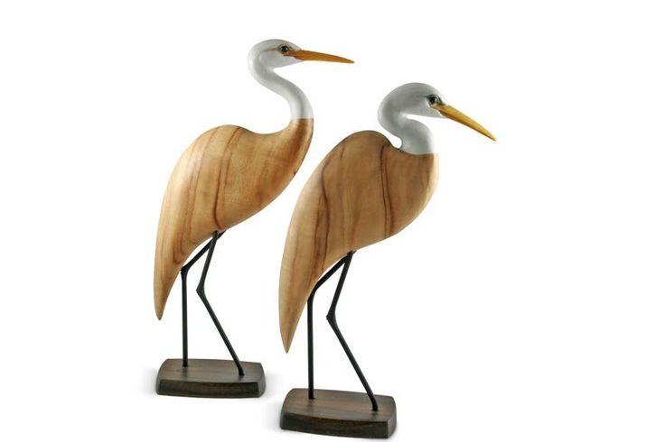 Egret Head Down   Australian Woodwork