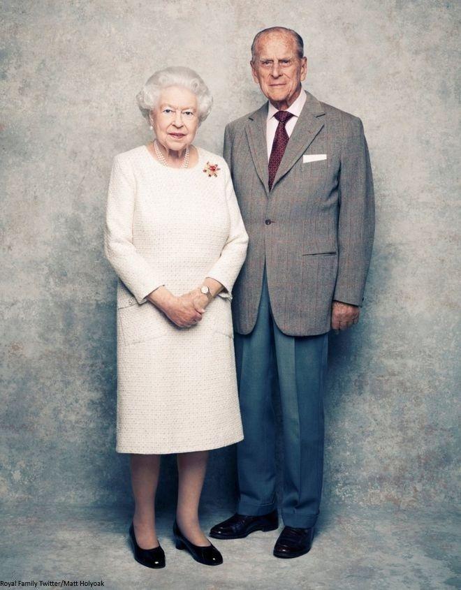 Queen Elizabeth Wedding Anniversary