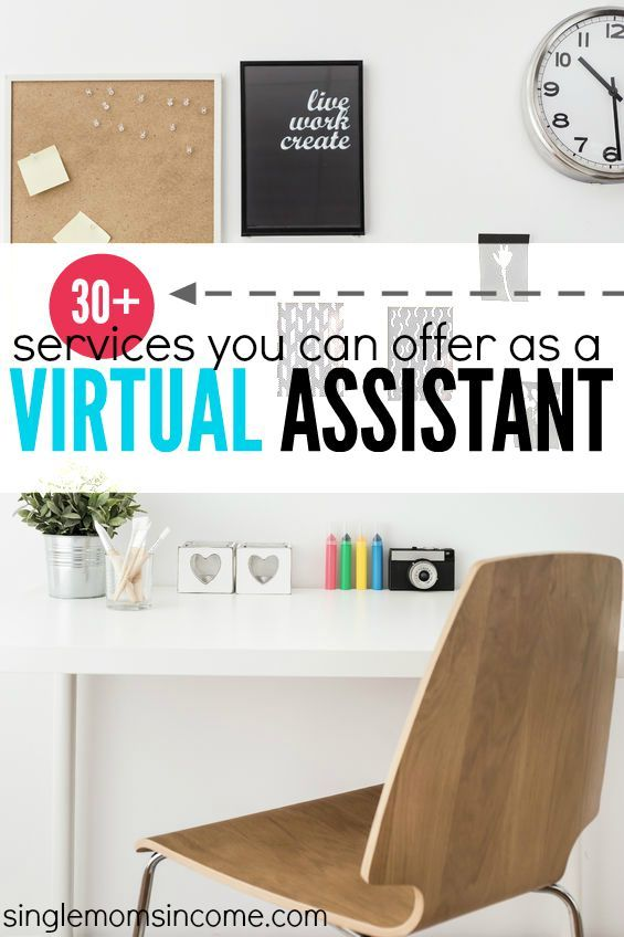 30 services you can offer as a virtual assistant - Interior Decorator Assistant Jobs