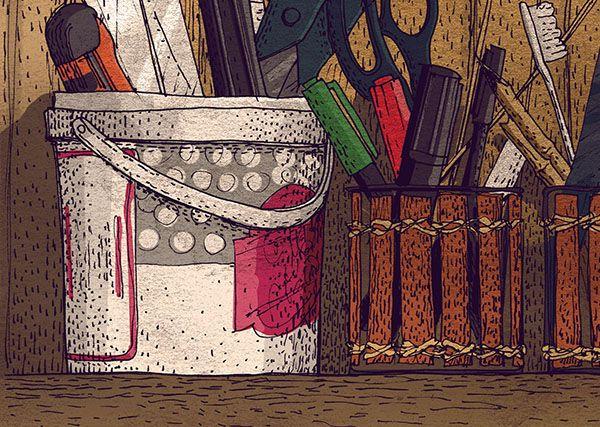 #mydesk #tools #graphic #draw #illustration #jenesesimre