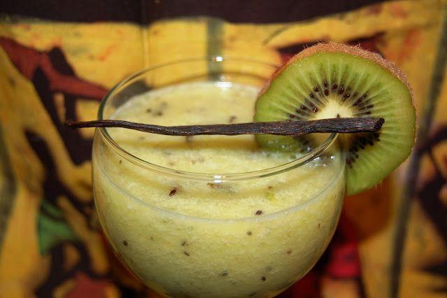 Katčina báječná kuchyně: Tropické smoothie se zeleným čajem