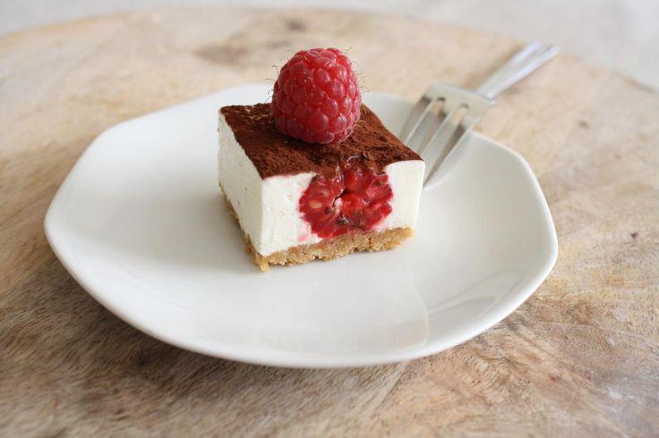 Bakeskolens bærspesial: Ostekake med bringebær