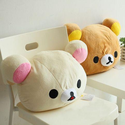 Kawaii Plush Rilakkuma Hold Pillow/Back Cushion,Seat Cushion from Elena's House $19