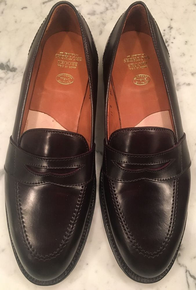 a581cb3b01d Brooks Brothers Alden 684 Low Vamp Penny Loafer Size 11 Cordovan  fashion   clothing  shoes  accessories  mensshoes  dressshoes (ebay link)