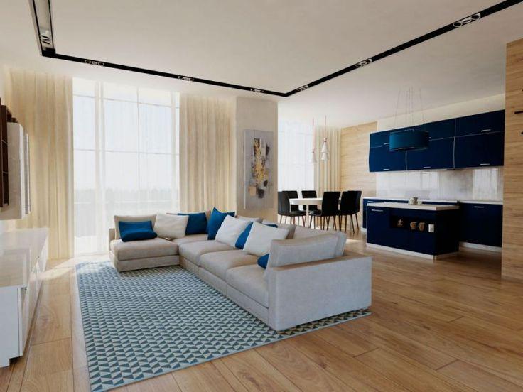 Small Living Rooms With Sectional Sofas Modern Ceiling Lights For Room Дизайн квартир,идеи гостиной,интерьер гостиной, дизайн ...