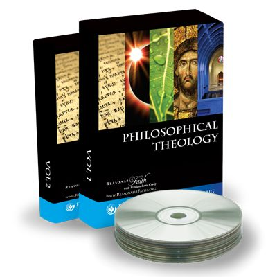 Philosophical Theology (150$) A 30-hour undergraduate course taught by Dr. Craig at Wheaton College, examining at length the Leibnizian and Kalam cosmological arguments, the teleological argument, the axiological argument, and the ontological argument.