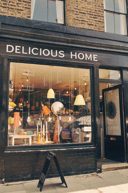 Delicious Home London It S A Furniture Store But Would Make A Good Exterior For A Cafe Or Bookstore Etc