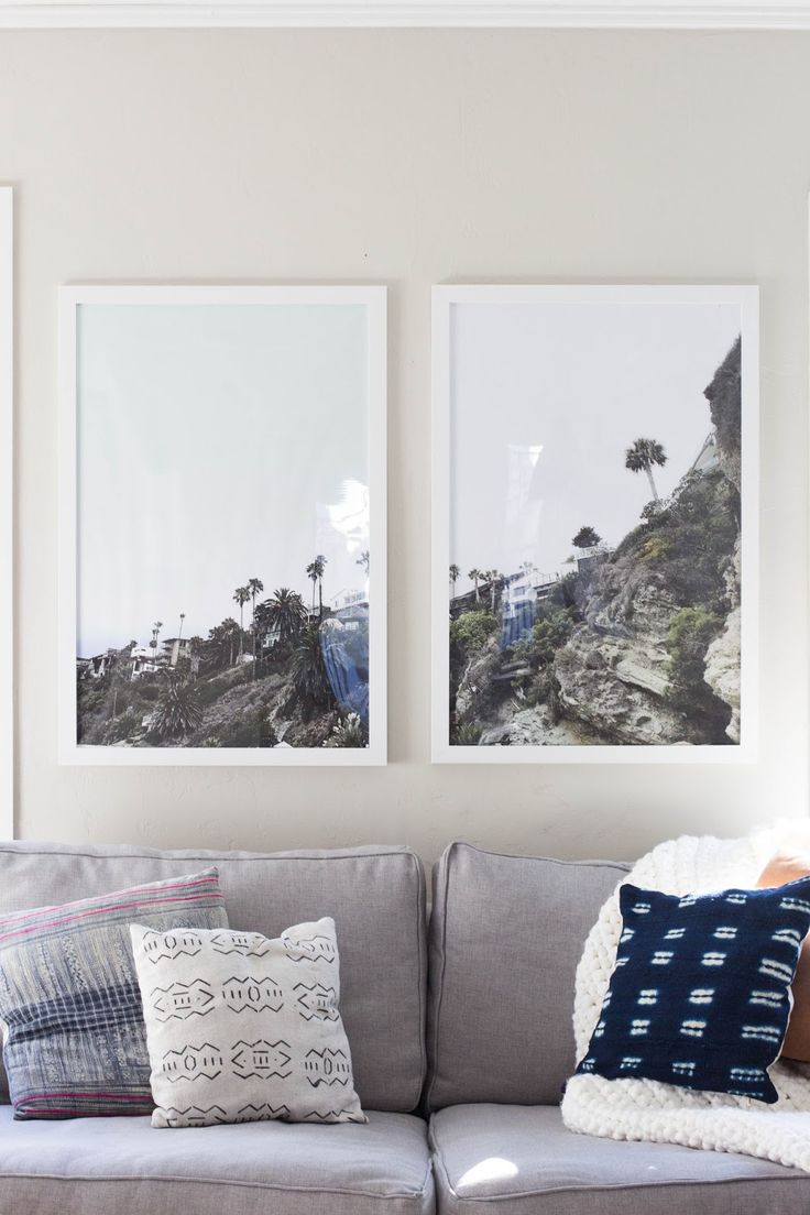How To Print and Frame Giant Photos For Less Than $20.
