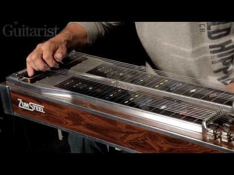 Steve Fishell (in Emmylou Harris's band) explains how pedal steel guitar works. Cool.