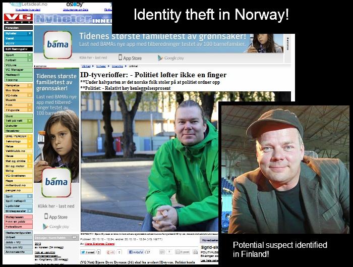 Jari Sillanpääkö norjalaishenkilön identiteettivarkauden takana? Katso kuva ja vertaa!