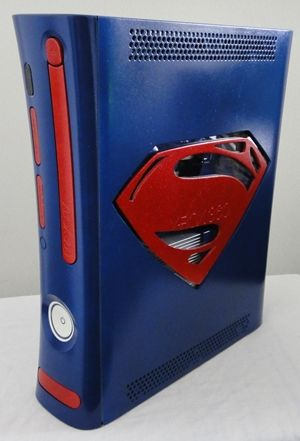 Custom xbox 360 RGH Jasper Man Of Steel