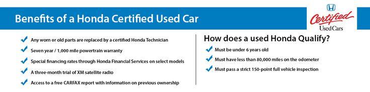 Benefits of a Honda Certified Used Car @ Silko Honda in Raynham, MA