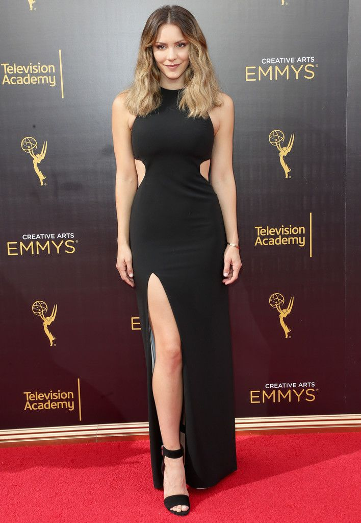 Katharine McPhee Photos Photos - 2016 Creative Arts Emmy Awards - Day 2 - Arrivals - Zimbio