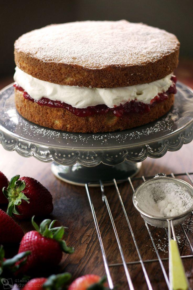 Best 25+ Victoria Sponge Cake Ideas On Pinterest